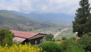 パロの丘から見た風景