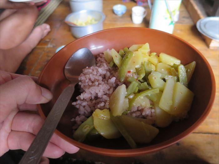 シンプルでおいしい野菜飯