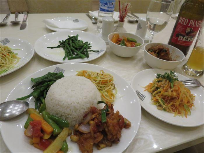アジアンな食事