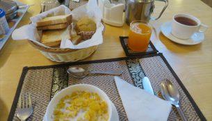 メリプーンスムリゾートの朝食