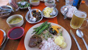 ブータンの食事