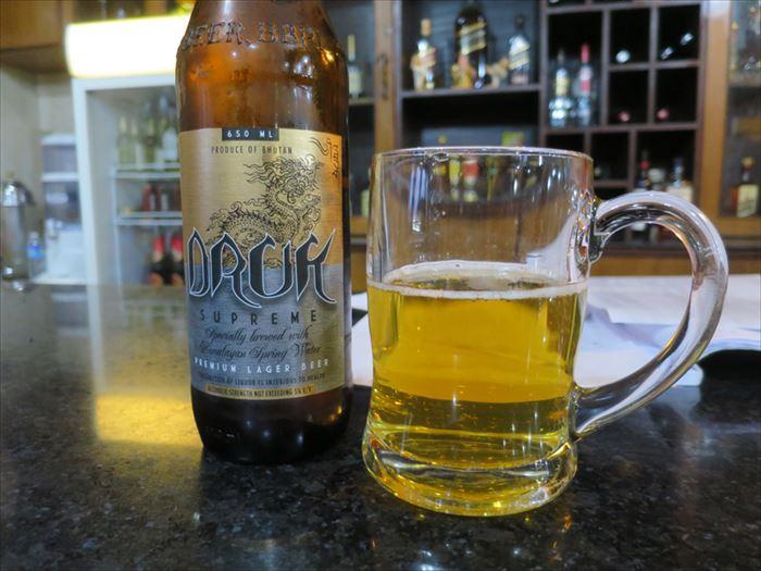 ブータンのビール
