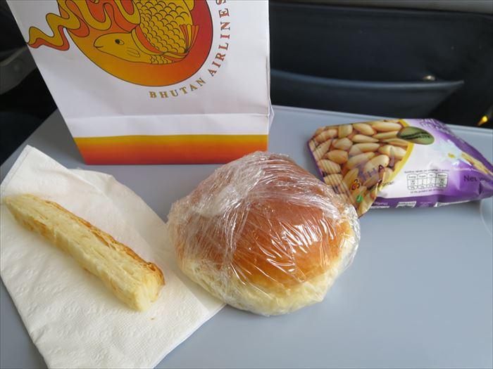 ブータンエアラインズの機内食