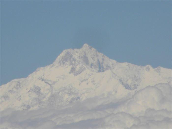 ブータンの雪山