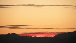 ブータンの夕方