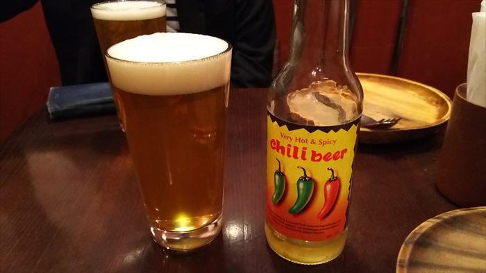メキシコ産のチリビール