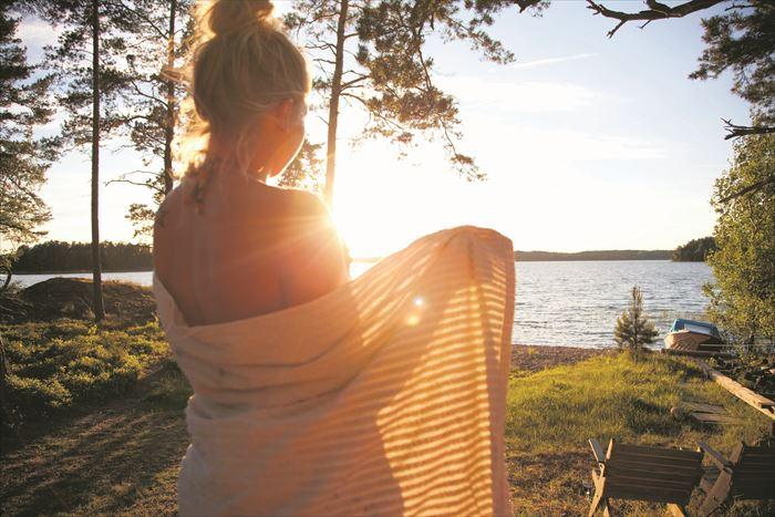 夏のフィンランド(イメージ)