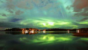 フィンランドのオーロラ