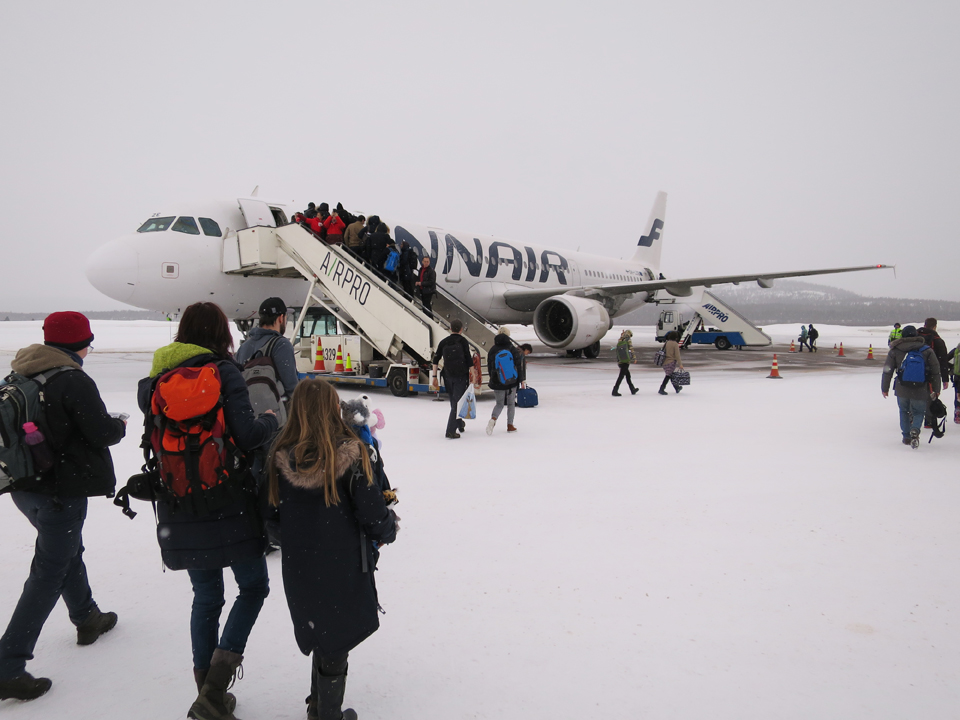 フィンランド航空写真