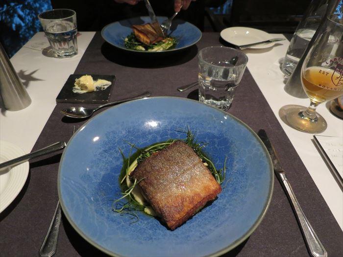 スカイホテル・オウナスヴァーラの夕食