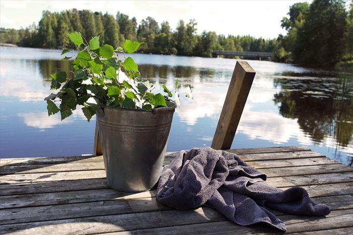 フィンランドの湖(イメージ)