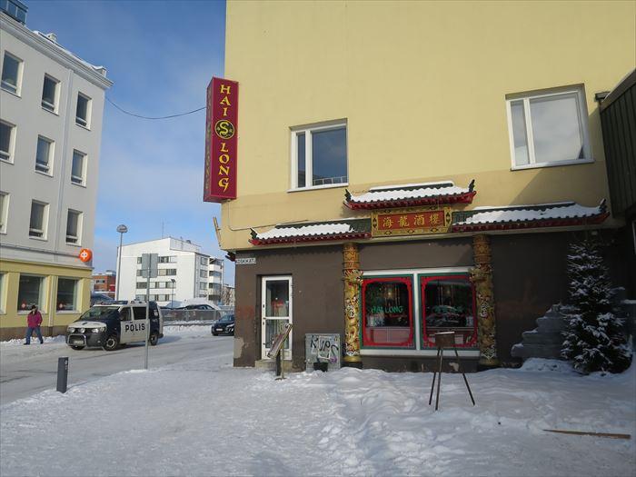 ロヴァニエミの中華料理屋