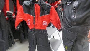 子供用の防寒着