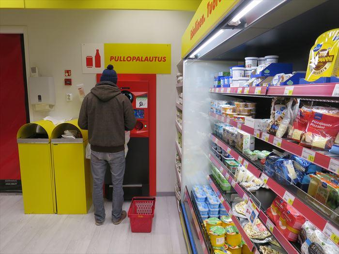 ロヴァニエミのスーパー