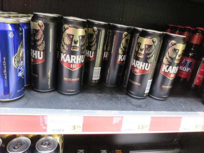 スーパーで売られるビール