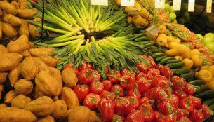 スーパーで売られる野菜