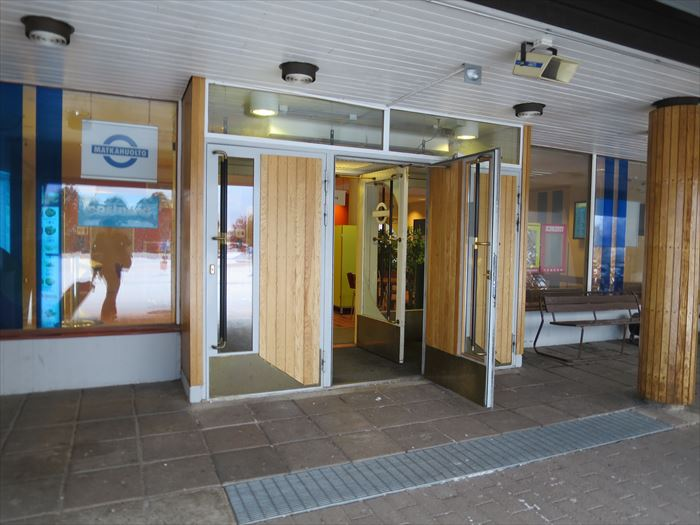 ロヴァニエミのバスターミナル