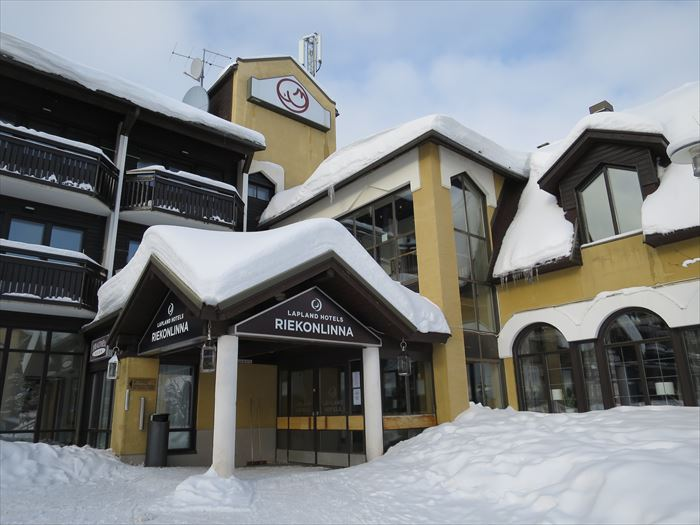サーリセルカのホテル リエコンリンナ