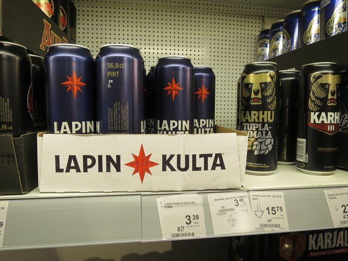 フィンランドのビール ラピンクルタ