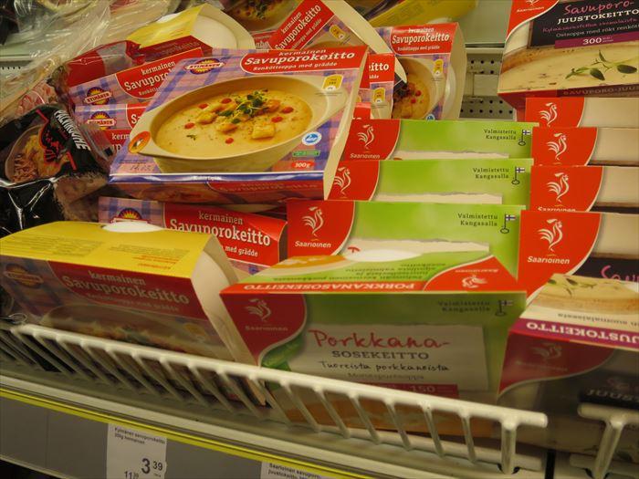 スーパーで売られるスープ