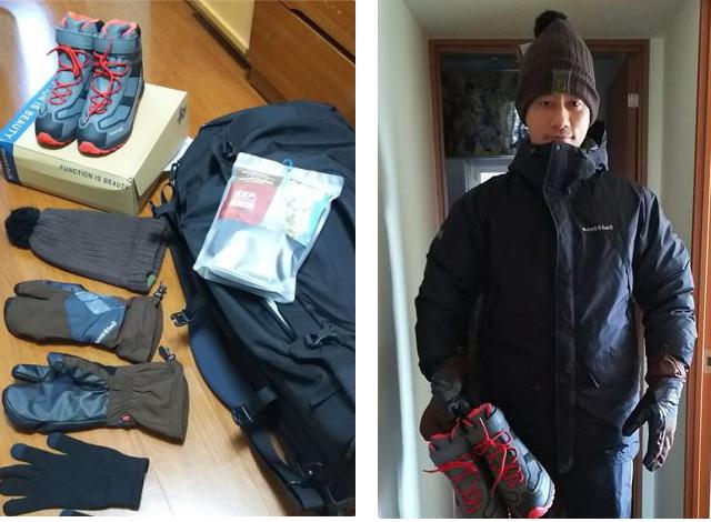 冬のフィンランド 服装