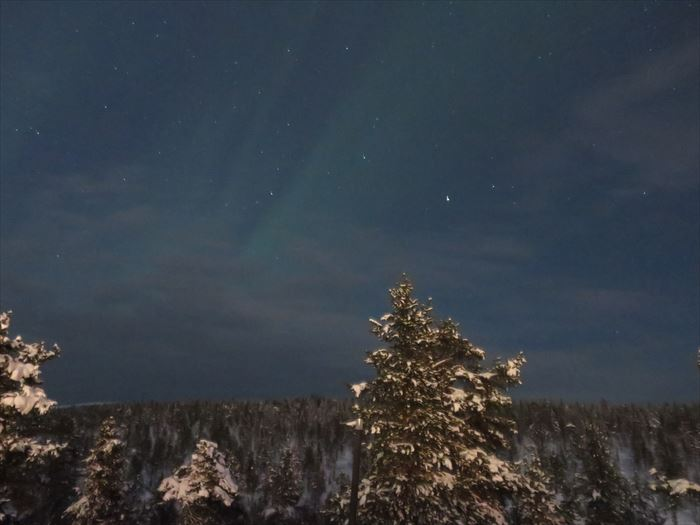 サーリセルカの夜空