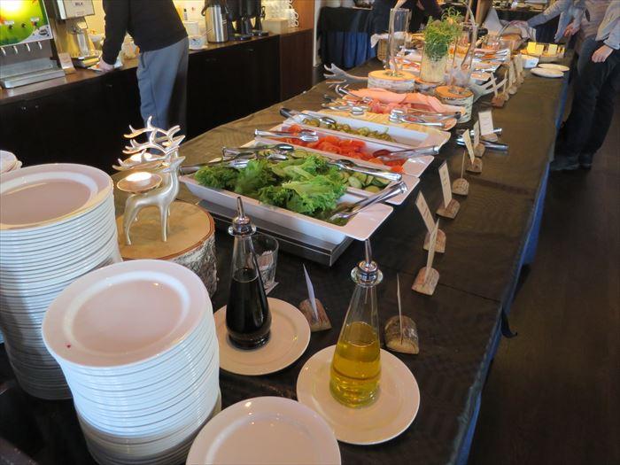 ホテル・リエコンリンナの朝食