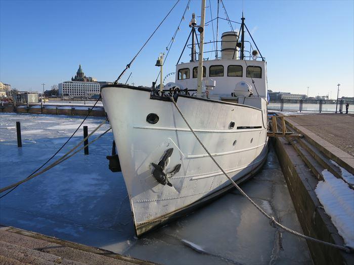 ヘルシンキの港エリア