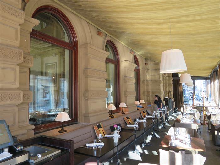 ホテル カンプのカフェ