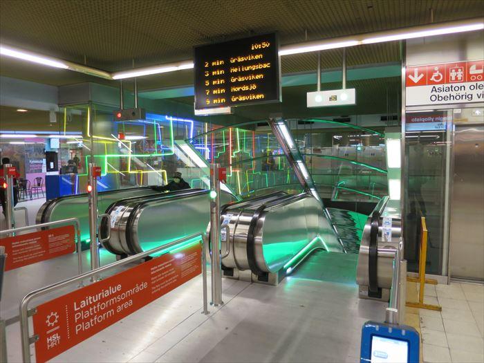 地下鉄の駅
