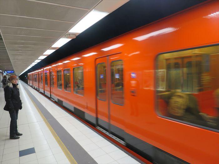 ヘルシンキの地下鉄