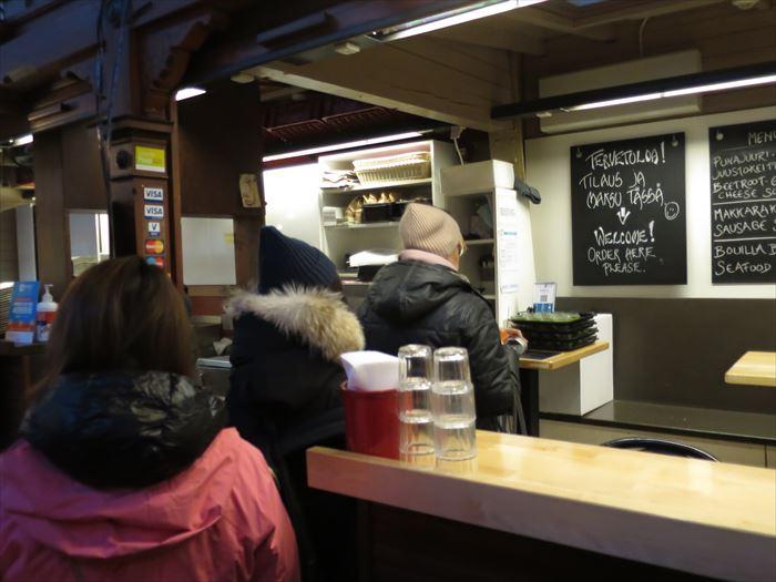 スープの専門店 ソッパケイッティオの店内