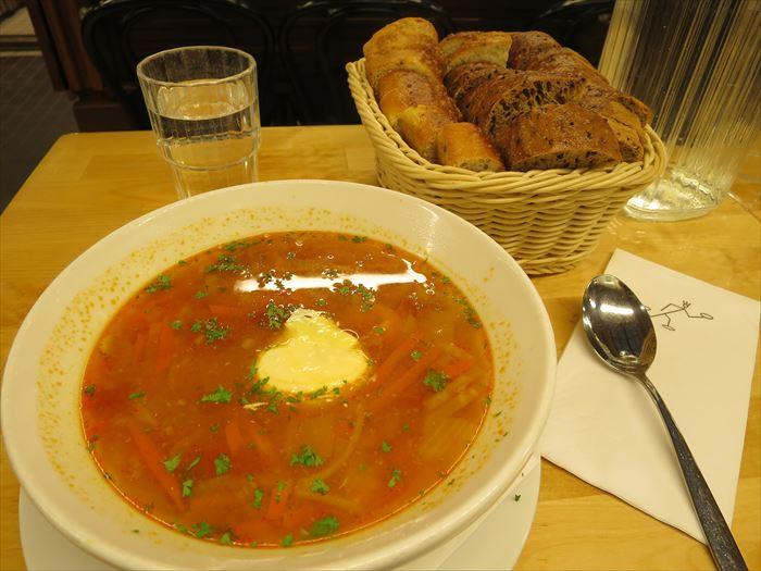 ソッパケイッティオのシーフードスープ