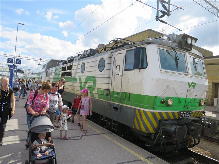 フィンランドの特急列車、VR