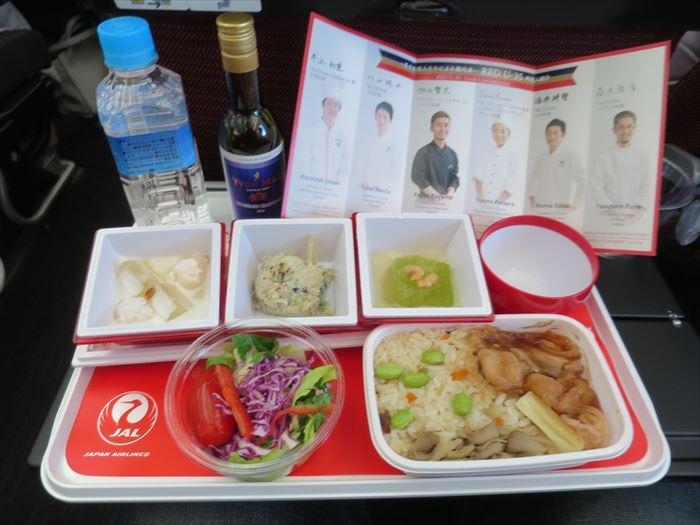 JALの機内食
