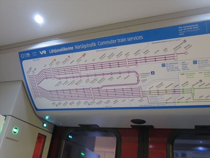 リングレールの路線図