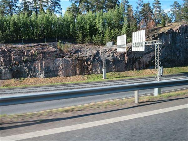 フィンランドの土壌は岩