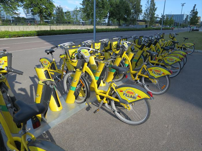 ヘルシンキのシティバイク