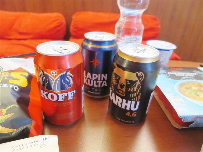 スーパーで買った、フィンランドのビール