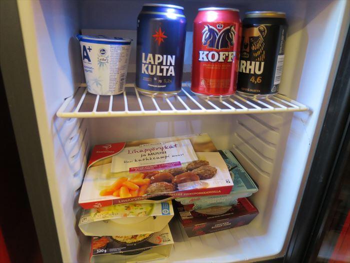オメナホテルの冷蔵庫
