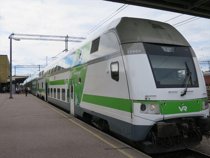 フィンランドの列車VR