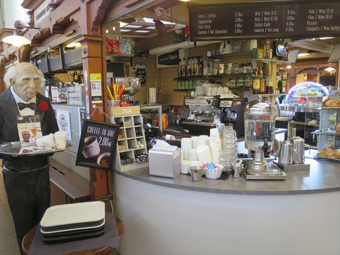 オールドマーケットのスカンジナビア カフェ