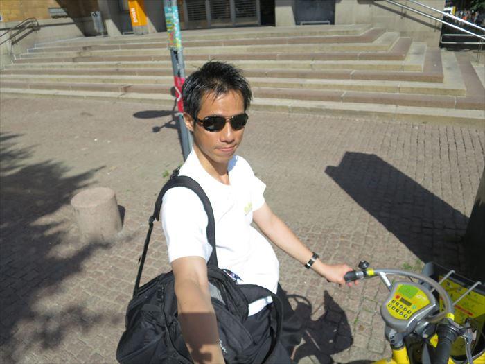 シティバイクでGO!