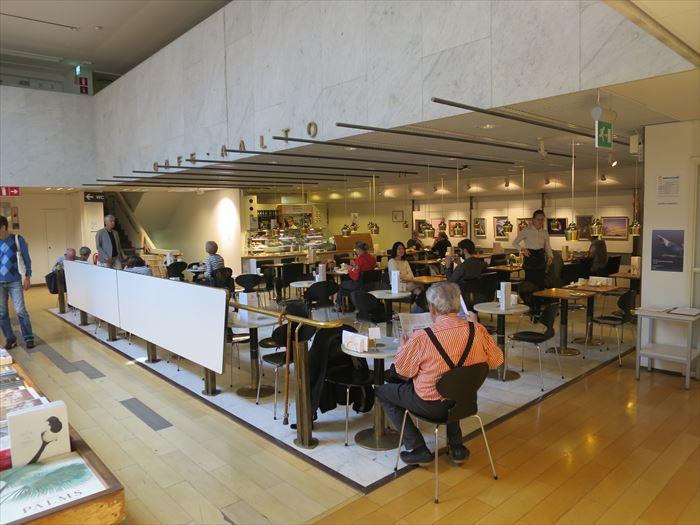 アカデミア書店のカフェ・アアルト