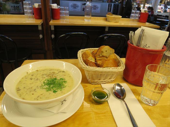 ソッパケイッティオのマッシュルームスープ