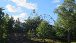 ヘルシンキのリンネンマキ遊園地