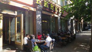 ヘルシンキの老舗カフェ、エクベルグ