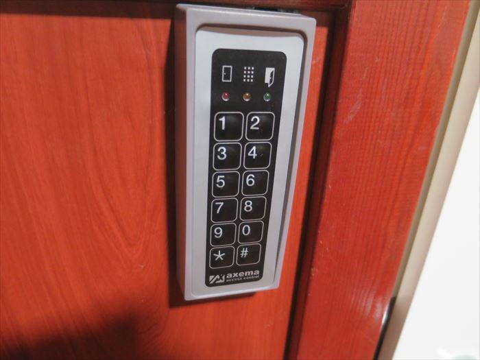 タンペレのオメナホテル 部屋の鍵