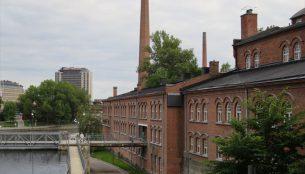 タンペレの街 旧フィンレンソン工場
