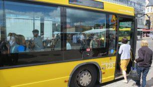 トゥルクからナーンタリへのバス